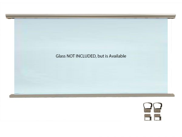 Glass Panel Railing Kit - Glass Optional