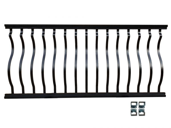 Belly and Bow Railing Kit