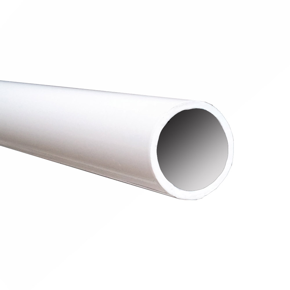 1.9 in. OD Round Pipe - White