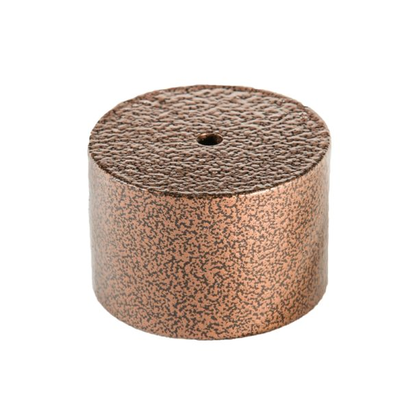 Copper Vein termination bracket for 1.9 in. OD pipe
