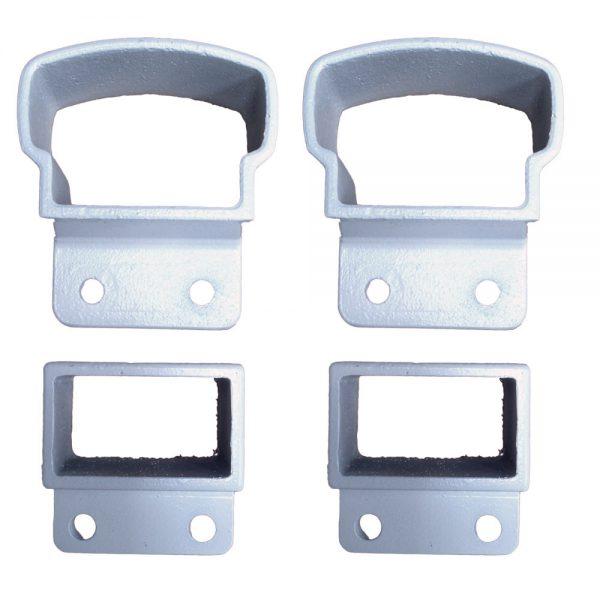 Level Mounts - Glass and Aluminum Baluster Railing