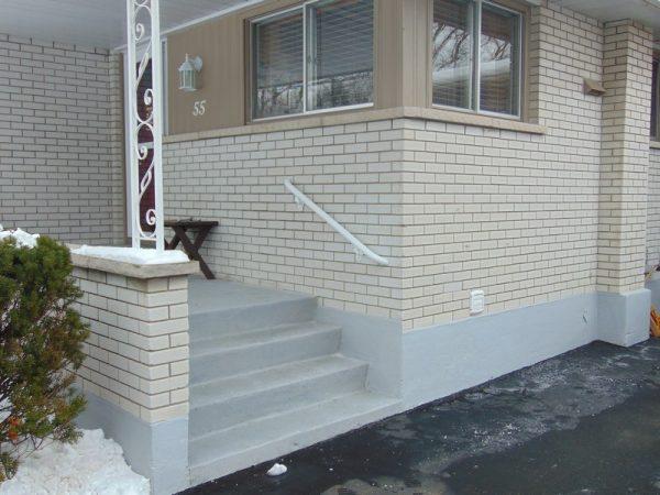 Installed Handrail