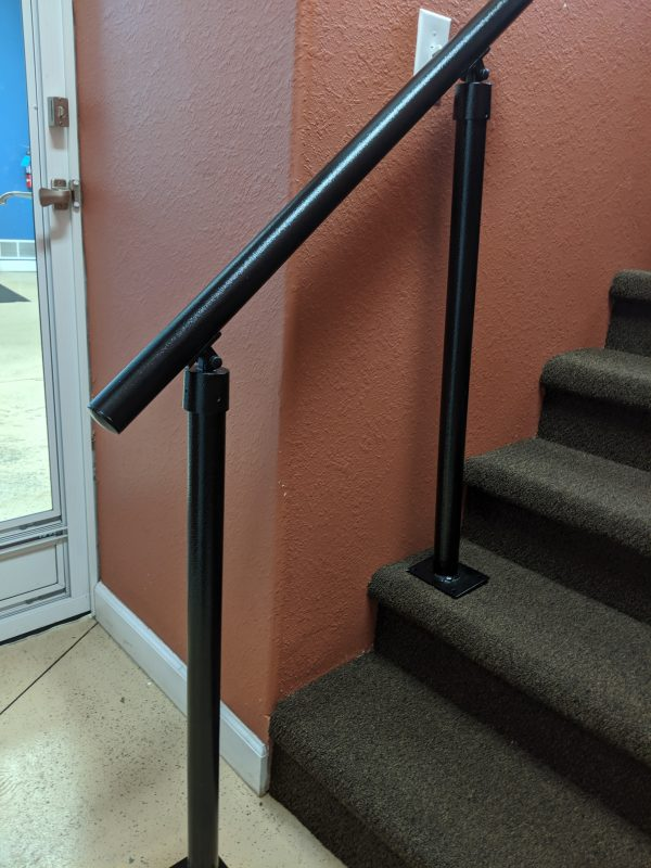 3-5 Step Rail with End Plugs