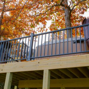 Square Baluster Aluminum Railing Kits & Components